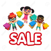Children's clothing and accessories sale timberlea