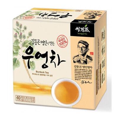 Korea Burdock Tea 40 Tea bags Korean Health Natural Tea