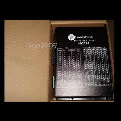 New Leadshine Nd2282 24 Phase Stepper Motor Driver 220vac 310vdc 8.2a 200khz