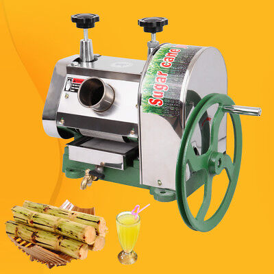 Used, Commercial Manual Sugar Cane Press Juicer Juice Machine Extractor Mill 50kg/h for sale  Rowland Heights