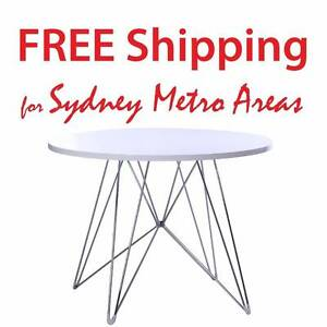 SALE - Eames Style Eiffel Dining Table (dia 100cm) Zetland Inner Sydney Preview