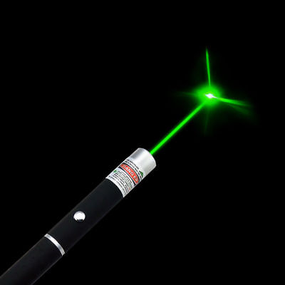 TOP Power Military 5mW 532nm Green Laser Pointer Pen Visible Beam Light Lazer MY
