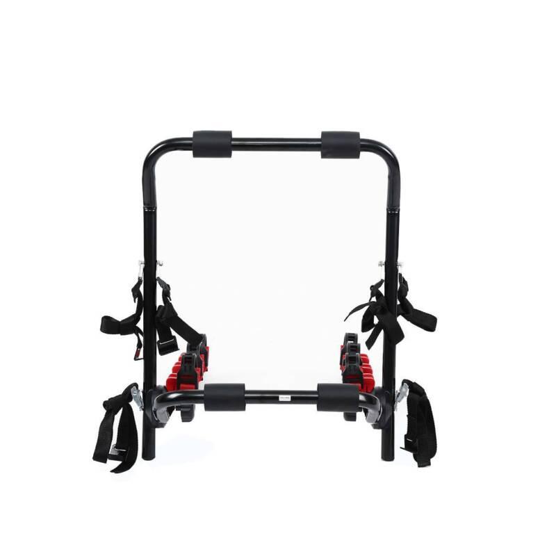 Fahrradträger Fahrradhalter Heckträger 3Fahrräder Faltbar Mit Sicherungsgürtel