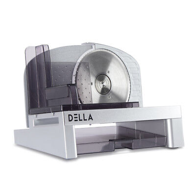 6.7 Electric Meat Slicer Serrated Fine Blade Food Vegetable Cheese Slice Etl