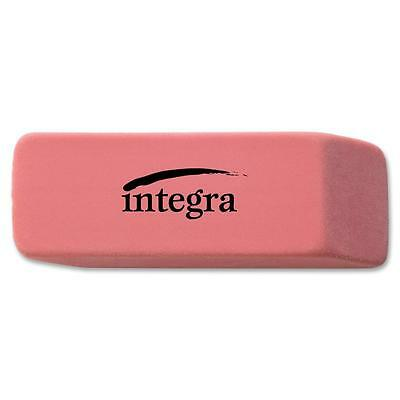 Integra Pencil Eraser Beveled End Medium 45x2x25 Pink 36522
