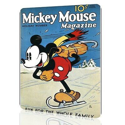 WALL SIGN MICKEY MOUSE Magazine Poster Wall Poster Decor Child Art Retro Vintage