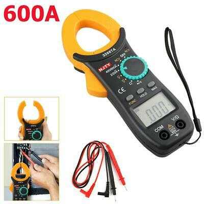 Lcd Digital Clamp Meter Tester Ac Dc Volt Amp Multimeter Auto Ranging Current