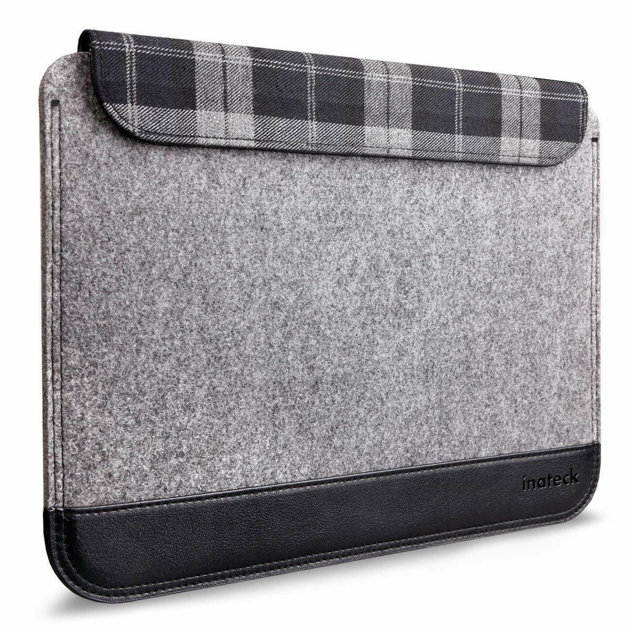 Inateck 11 Zoll Filz Laptop Hülle Ultraschlanke Notebook Tasche Tablet-Tasche