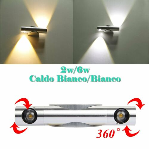LED Applique Lampada da Parete  Up Down Lampada  Caldo Bianco/ Bianco Specchio