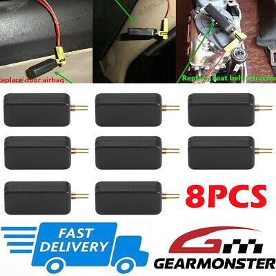 8X Universal Car Airbag Simulator Emulator Resistor Bypass SRS Kit Fault Finding