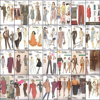 OOP Vogue Sewing Pattern Misses Size 12 14 16 You Pick