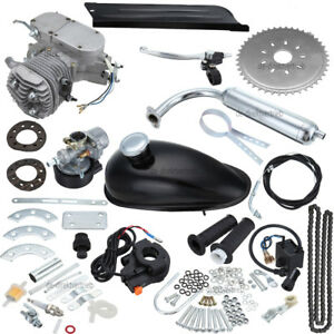 2- Stroke CDI 50cc Motor Engine kit Gas For Motorized Bicycle Cycle Bike