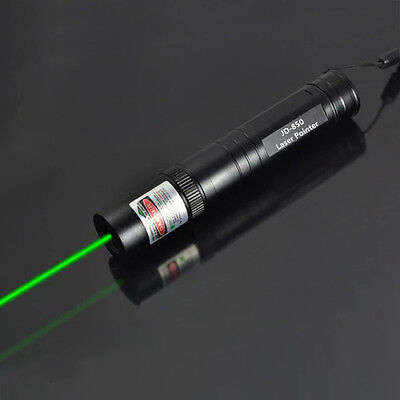 Military 10 Miles 532nm High Power Green Laser Pointer Pen Visible Beam Lazer