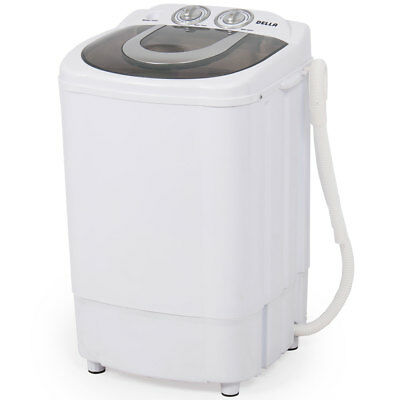 Mini Small Washing Machine Spin Wash 8.8Lbs Capacity Compact Laundry Washer