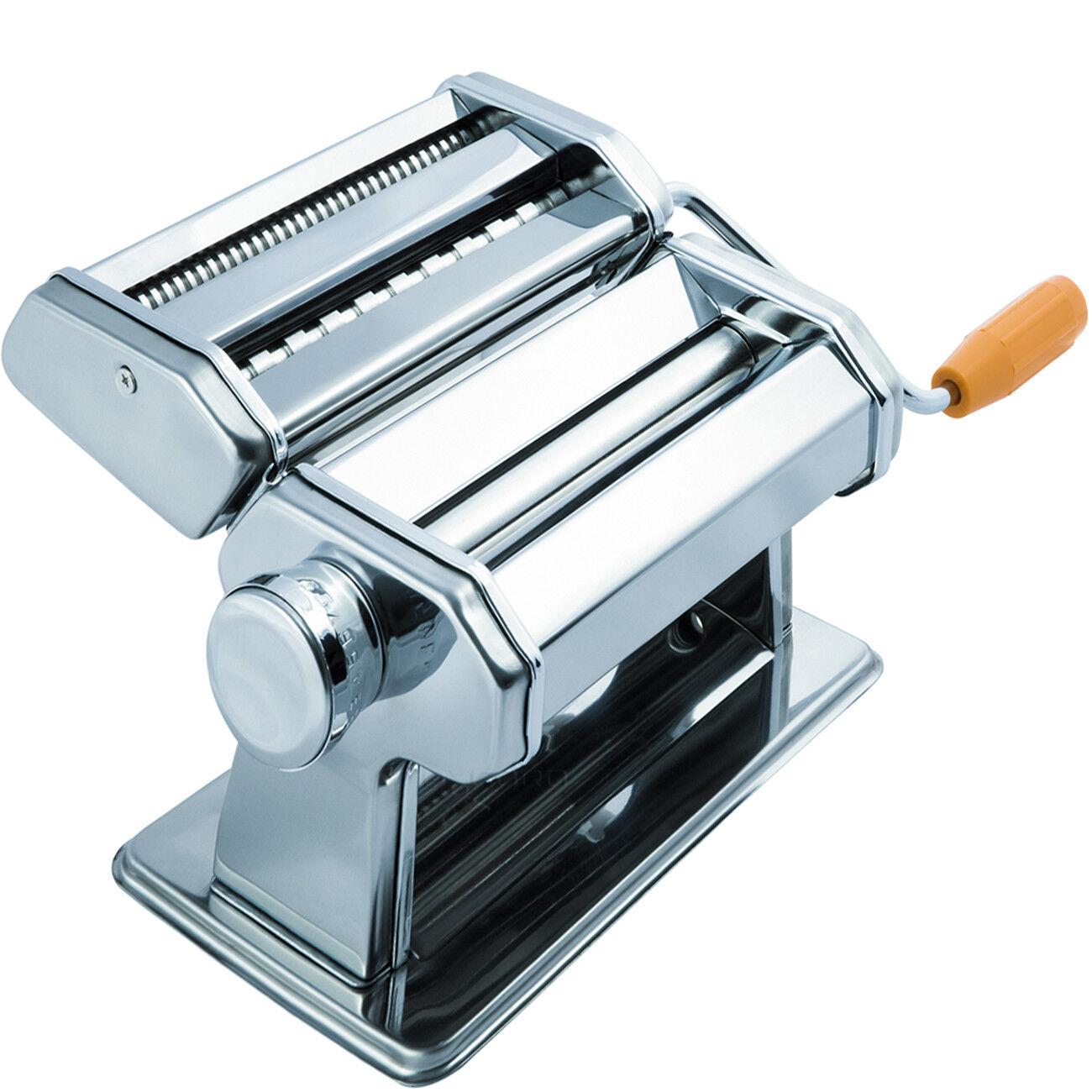 OxGord Stainless Steel Fresh Pasta Maker Roller Machine for