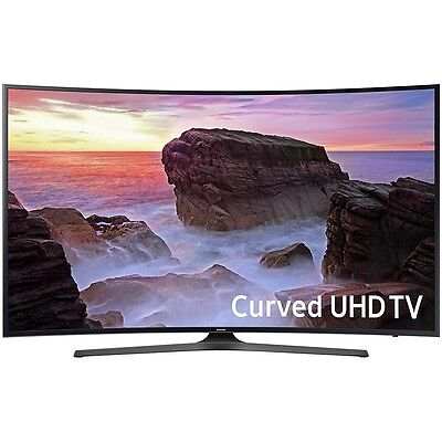 "Samsung UN55MU6500 Curved 55"" 4K Ultra HD Smart LED TV"