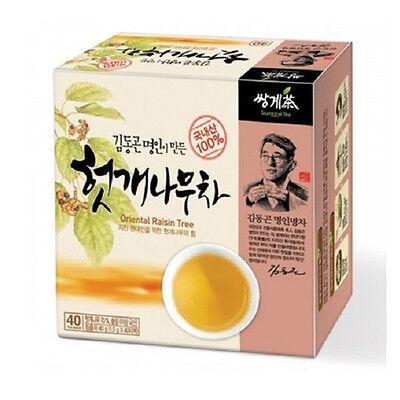 Korea Hovenia Dulcis Tea 40 Tea bags Korean Health Natural Tea