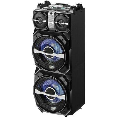 Blackmore BJS-198BT Dual 12in Bluetooth Audio Syst Spkr Mp3 Led Illumination Dsp