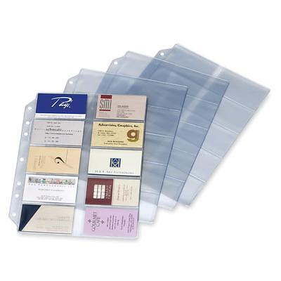 Cardinal Refill Pages For Card File Binder 10pk Clear 7860000