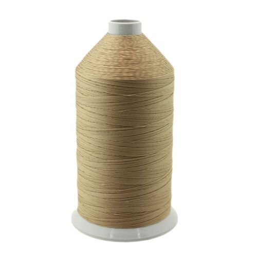 Camel Bonded Nylon Upholstery Thread-Size 138, Tex 135, 16 Oz. 3000 Yards