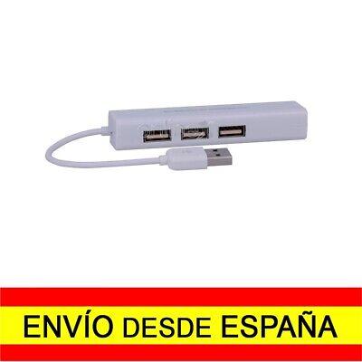Adaptador Conversor USB 2.0 Macho Red Ethernet RJ45 Tarjeta LAN 10 /100Mb...