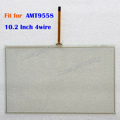 New 10.2 Inch 4wire Touch Screen Glass for AMT9558 AMT 9558  180 days Warranty
