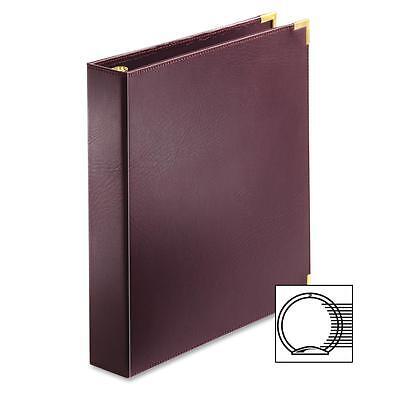 Cardinal Business Binder 3 Ring 1-12 Cap. 11x8-12 Burgundy 1445710