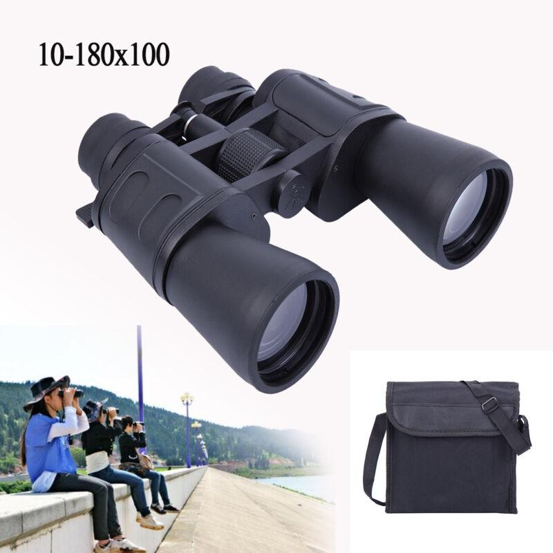 Fernglas Nachtsicht Fernrohr 10-180x100 Feldstecher Jagdfernglas Binocular DE