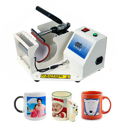 11oz Mug Digital Heat Press Machine Automatic Cup Heat Transfer Sublimation