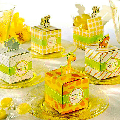 24 Mix Jungle Theme Baby Shower Favor Candy Boxes Monkey - Monkey Baby Shower Theme