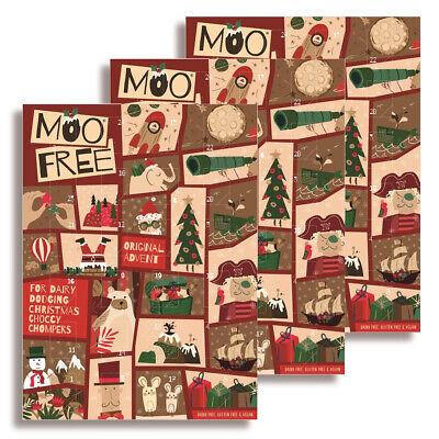 Moo Free Kids Milk Alternative Advent Calendar 70g (Pack of 3) - Dairy Free
