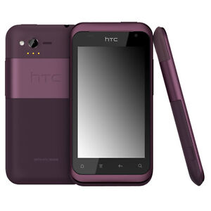 New HTC Rhyme 4GB Verizon Plum Purple ADR6330 Android Smartphone