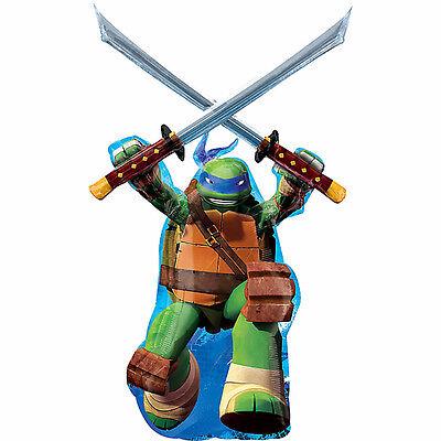 Leonardo TMNT Teenage Mutant Ninja Turtles Balloon Boys Birthday Party Supplies ](Ninja Turtles Birthday Supplies)