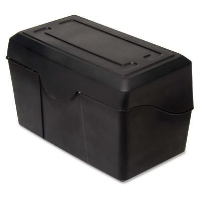 Advantus Index Card Holders 5x8 Black 45003