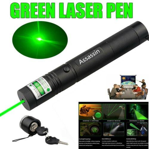Ultra Bright 900miles Green Laser Pointer Pen Assassin Visib