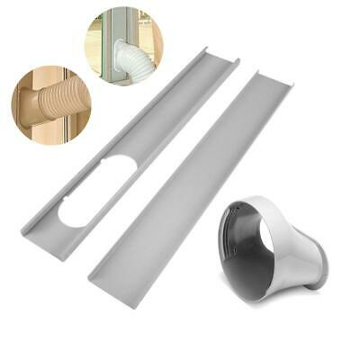 White Window Slide Kit Plate / 15cm Window Adaptor For Porta