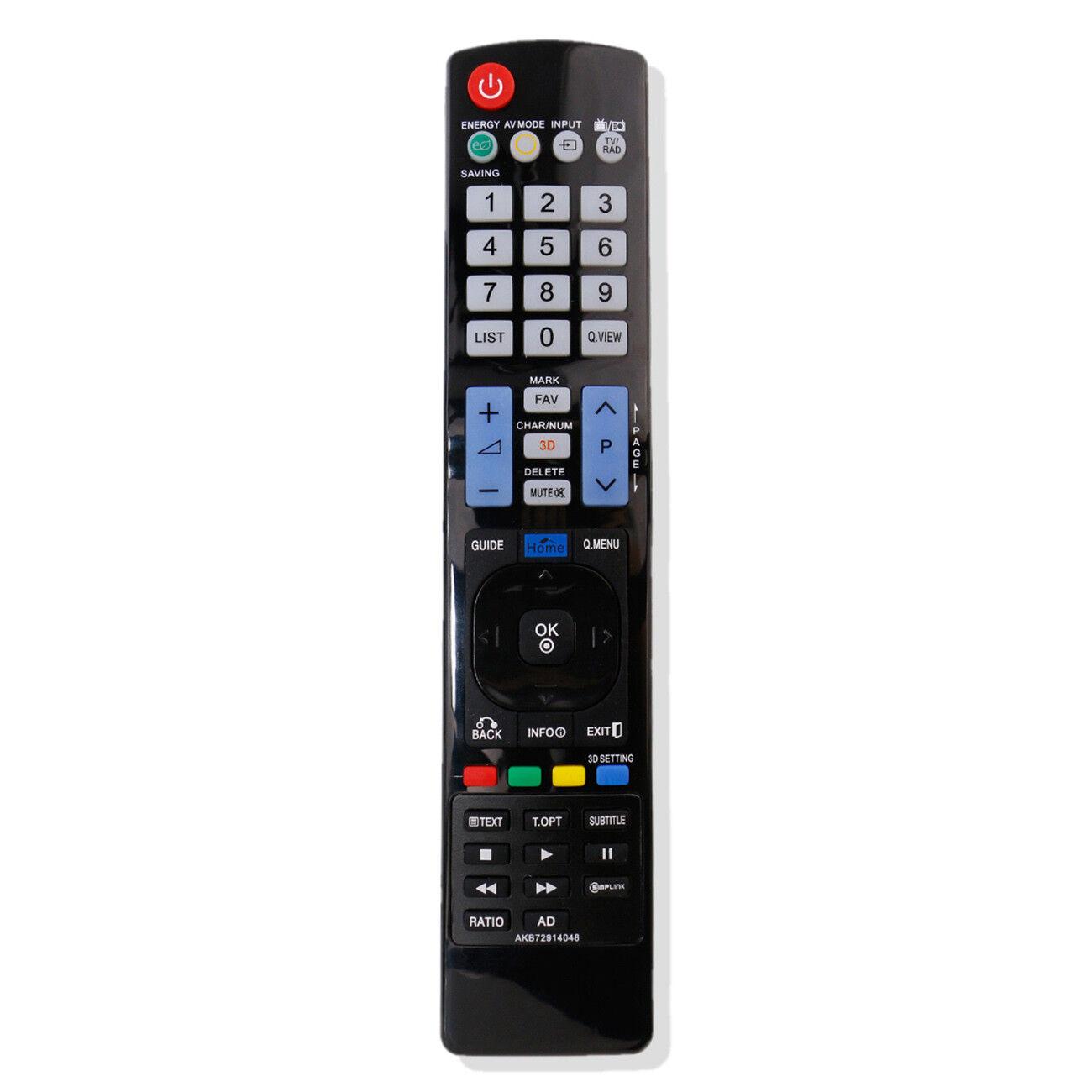 Nuovo telecomando di ricambio AKB72914048 per LG TV 26LU5000 26LV2500 32LS570S