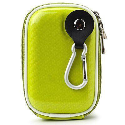 Semi Hard Camera Case - Green Semi Hard Slim Camera Case 4.5