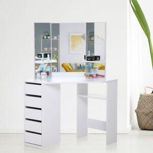 corner dressing table ebay. Black Bedroom Furniture Sets. Home Design Ideas