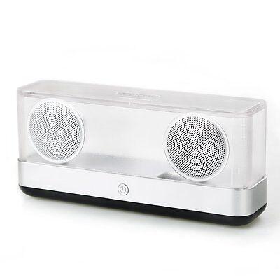 Inateck Transparenter Drahtloser Bluetooth 4.2 Lautsprecher,Hohe Lautstärke