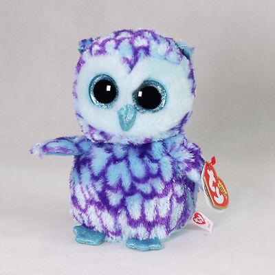 "6"" Beanie Boos Glitter Eyes Plush Stuffed Animals Toys Kids Xmas Gift With tag!"