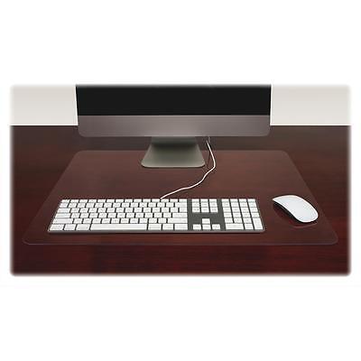 Lorell Desk Pad Rectangular Non-glare 24x19 Clear 39652