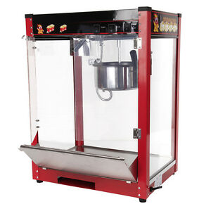 how to clean a commercial popcorn machine
