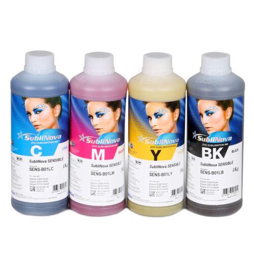 Inktec Sublimation Ink-SubliNova Sensible Set - 4 liters