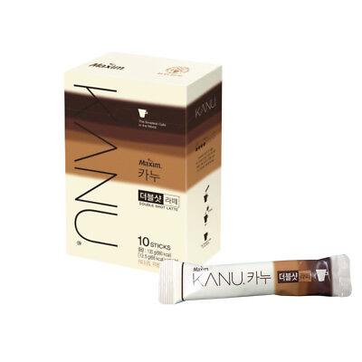 KANU Primium coffee mix, Kanu double shot Latte 13.5g*10ea-10sticks