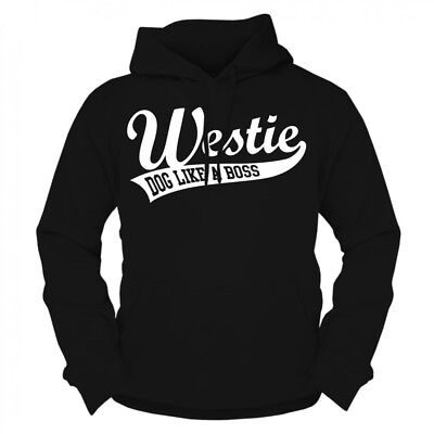 Kapuzenpullover Sweatshirt Hoodie Westie rasse West Highland White Terrier dog West Highland Terrier Sweatshirt