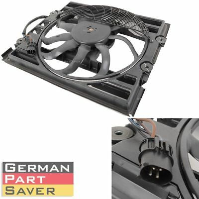 New BMW 1994-2003 E38 740 750 Auxiliary Cooling Fan Motor Assembly 64548380774 Bmw Auxiliary Fan Assembly