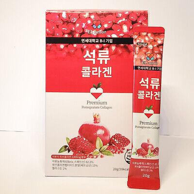 EL amor Premium Pomegranate Collagen Jelly Stick 20g*10pcs Fish Collagen K-Food