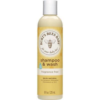Burts Bees Baby bee shampoo & wash 8 fl oz
