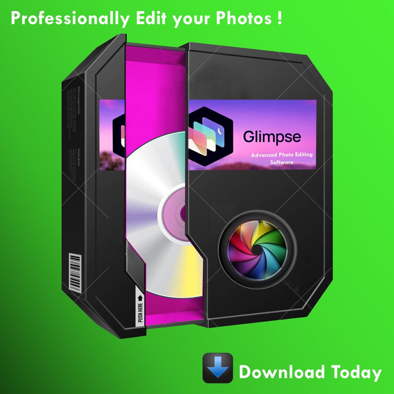 Professional Photography/Photo Editing Image Software - GLIMPSE v.1 - PC Windows